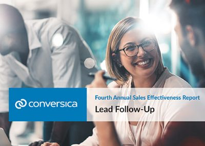 Fourth Annual Sales Effectiveness Report – Lead Follow Up