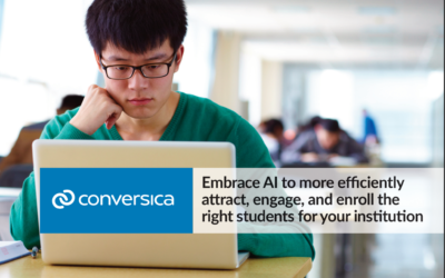New eBook: Embrace AI to efficiently attract, engage, and enroll the right students for your institution